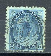 CANADA : SOUVERAINS N° Yvert 67 Obli. - Usati