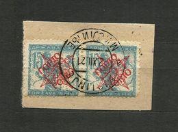 1919 S.H.S.YUGOSLAVIA -  SLOVENIA - VERIGARJI -  15vin./20vin Used.MISLINJE - 1919-1929 Regno Dei Serbi, Croati E Sloveni