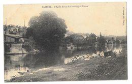 Cpa: 81 CASTRES - L'Agoût Devant Le Faubourg De VENISE ( Lavandières, Laveuses) - Castres