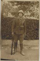 Carte-Photo D'un Soldat Français Au Fort Gouraud  Damas  Djebel Druzes - Syria