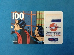 ITALIA SCHEDA TELEFONICA RICARICARD TIM USATA USED PHONE CARD - MANDRAKE 100.000 LIRE SCAD. NOV 2000 - Italy