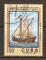 1982 - 490e  Anniversaire Découverte Amérique - La Nina -  N°2402 - Cuba