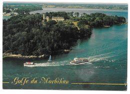 56 - Le Golfe Du Morbihan - Passage De Vedettes à L'le De Berdère - Ed. YCA N° 8129 - Otros Municipios