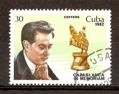 1982 - Capablanca - Jeux D'échecs - N°2411 - Cuba