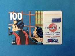 ITALIA SCHEDA TELEFONICA RICARICARD TIM USATA USED PHONE CARD - MANDRAKE 100.000 LIRE SCAD. GIU 2001 - Italy