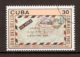 1983 - Journée Du Timbre - 1947 Premier Avion Transatlantique - N°2437 - Cuba