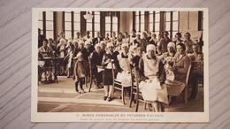 (68) - MINES DOMANIALES DE POTASSES D'ALSACE - COURS DE COUTURE POUR LES FEMMES DES MINEURS POLONAIS - Non Classés