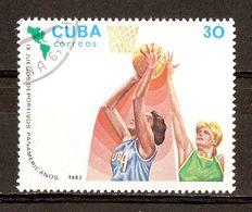 1983 - Jeux Panaméricains - Caracas - Basket - N°2447 - Cuba