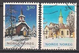 Norwegen  (1993)  Mi.Nr.  1141 + 1142  Gest. / Used  (2ee21) - Gebraucht