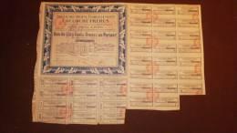 Bon De 7% , Anciens établissements Lacloche Frères , 1927  ,  Frais Fr : 1.95€ , Cee : 2.30€ , Monde : 3.00€ - Otros