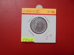 MONACO 1 Franc (NON-DATE) 1943 - Monaco