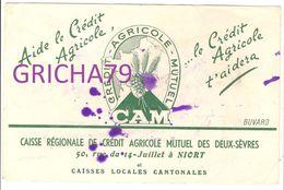 BUVARD CAISSE REGIONALE CREDIT AGRICOLE NIORT - Bank & Insurance