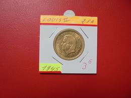 MONACO 2 Francs (NON-DATE) 1945 - Monaco