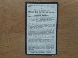 D.P.-HENRI DE SPIEGELAERE °KNESSELARE 20-5-1859+ALDAAR 16-7-1922 - Religion & Esotericism
