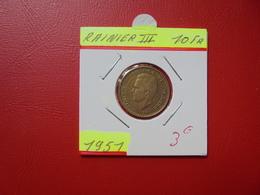 MONACO 10 Francs  1951 - Monaco