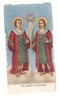 Santino.55 S.s. Cosma E Damiano - Vecchi Documenti