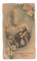 Santino.51 Beato Ignazio Da Laconi Cappuccino - Vecchi Documenti