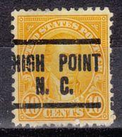 USA Precancel Vorausentwertung Preo, Locals North Carolina, High Point 642-204 - Vereinigte Staaten