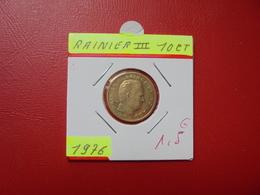 MONACO 10 Centimes  1976 - 1960-2001 New Francs