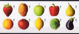 2003 GRANDE BRETAGNE  N**  Fruit And Vegetables Avec Stickers MNH - 1952-.... (Elizabeth II)