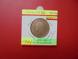 MONACO 10 Francs 1982 - 1960-2001 New Francs