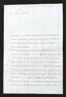 Storia - Lettera Manoscritta Con Autografo Originale Del Conte De La Tour - 1702 - Autografi