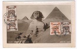 AFR-1020   CAIRO : Spinx & Pyramids ( Nice Palastine Stamps) - Caïro