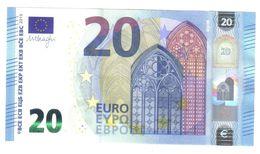 NEW 20 € Mario Draghi ITALIA Serie SC S009D4 Q.FDS Cod.€.032 - 20 Euro