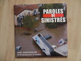 PAROLES DE SINISTRES GARD INONDATIONS 2002  C D CD - Musik & Instrumente