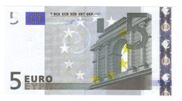 5 €  ITALIA FDS UNC J001H3 Duisenberg Cod.€.001 - 5 Euro