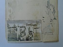 X138.16 Italia  - Foto Lumachi -Empoli - Casa Di Risparmio Di Lucca F. Di. Pontedera -signatures,  Autograph  1933 - Autografi