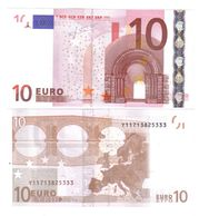 10 €  GRECIA Y Trichet N014B5 FDS UNC Cod.€.050 - EURO