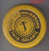 TOILE ISOLANTE  - ANCIENNE BOITE EN METAL - V/IMAGE ET DIMENTION - Matériel Médical & Dentaire