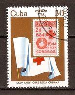 1984 - 75e Anniversaire De La Croix-Rouge à Cuba - N°2530 - Cuba