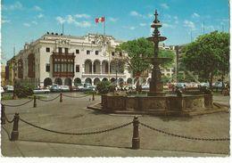 CPSM, Pérou , N° 10/42 , Lima , Palacio Municipal , (1945 ) , Ed. Krüger, 1968 - Peru