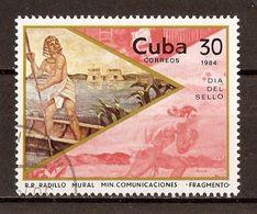 1984 - Journée Du Timbre - Passeur égyptien - N°2547 - Cuba