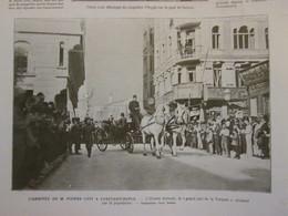 1913 Pierre LOTI  à CONSTANTINOPLE Turquie - Non Classés