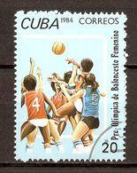 1984 - Jeux Olympiques D'été - Basket Féminin - N°2548 - Cuba