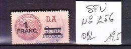 FRANCE. TIMBRE. FISCAL. FISCAUX. SFU. SÉRIE UNIFIÉE. N°..................256 - Revenue Stamps