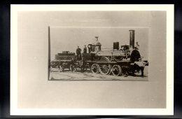 PHOTO - Chemin De Fer 121 - Editeur Photo P.O. - Ligne De Sceaux - Locomotive - (1858) - Trains