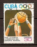 1984 - Jeux Olympiques Los Angeles - Basket - N°2563 - Cuba