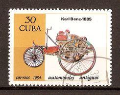 1984 - Automobiles Anciennes - Karl Benz 1885 - N°2590 - Cuba