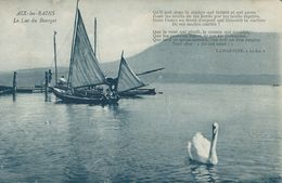 Old Boats - Aix-les-Bains.  Le Lac Du Bourget.  France. S-4168 - Ships