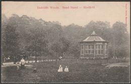 Band Stand, Endcliffe Woods, Sheffield, Yorkshire, C.1905-10 - John Walsh Postcard - Sheffield