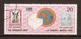 1985 - 13e Congrès Union Postale - La Havane - N°2609 - Cuba