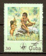 1984 - Exposition Philatélique ESPAMER85 - Chasse - N°2614 - Cuba