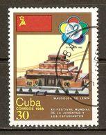 1984 - 12ème Festival Des Jeunes Et Des étudiants - Mausolée De Lénine - N°2622 - Cuba