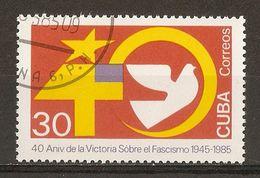1985 - 40e Anniversaire De La Victoire Sur Le Fascisme - N°2634 - Cuba