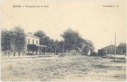 Cpa 13 – Sénas – Perspective De La Gare - France