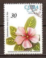 1977 - Juan Tomas Roig - Fleurs - Catharanthus Roseus - PA N°257 - Airmail